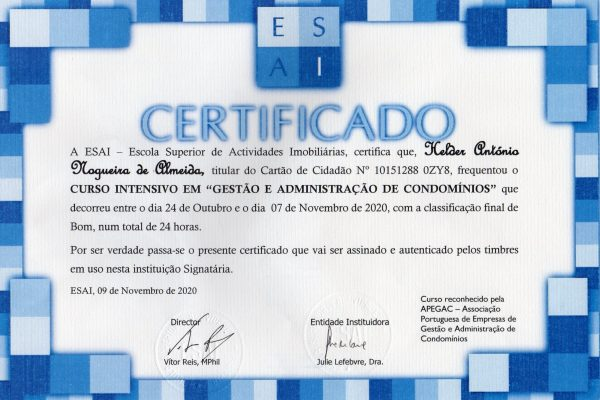 Certificado GC